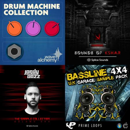 bassline 4x4 sample pack