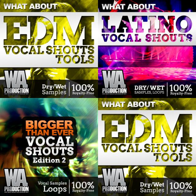 WA Hand-picked Vocal Shouts 1 Samples and Loops - Splice Sounds