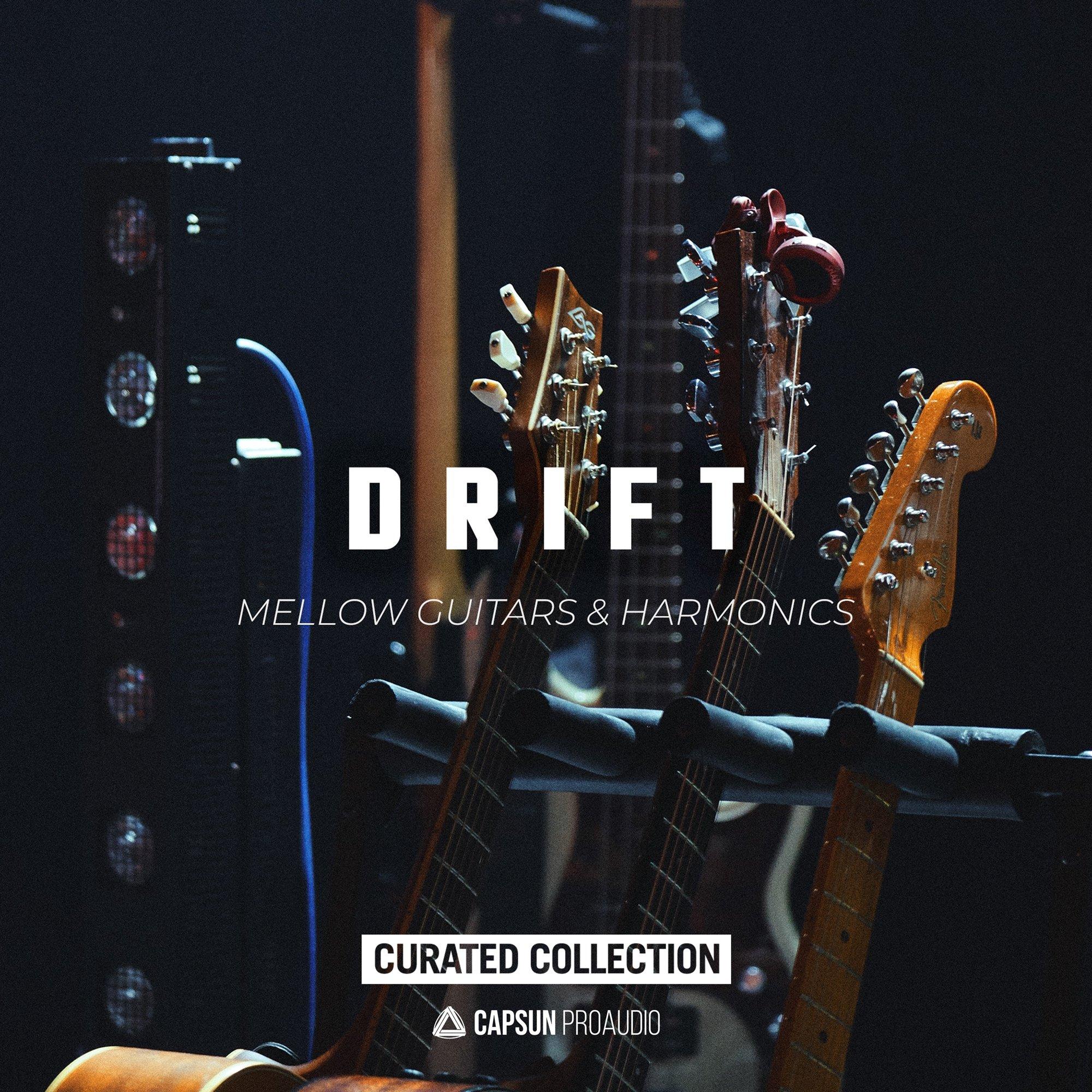 Drift Mellow Guitar Harmonics Samples And Loops Splice Sounds